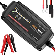 785197420205 12 Volt 5 Amp 7-stufig AGM Batterieladegerät Maintainer & Desulfator für 6-120AH Marine Rv Motorrad Golfwagen Fahrzeug Batterie