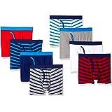 Amazon Essentials Cotton Boxer Briefs Underwear Niños, Pack de 8