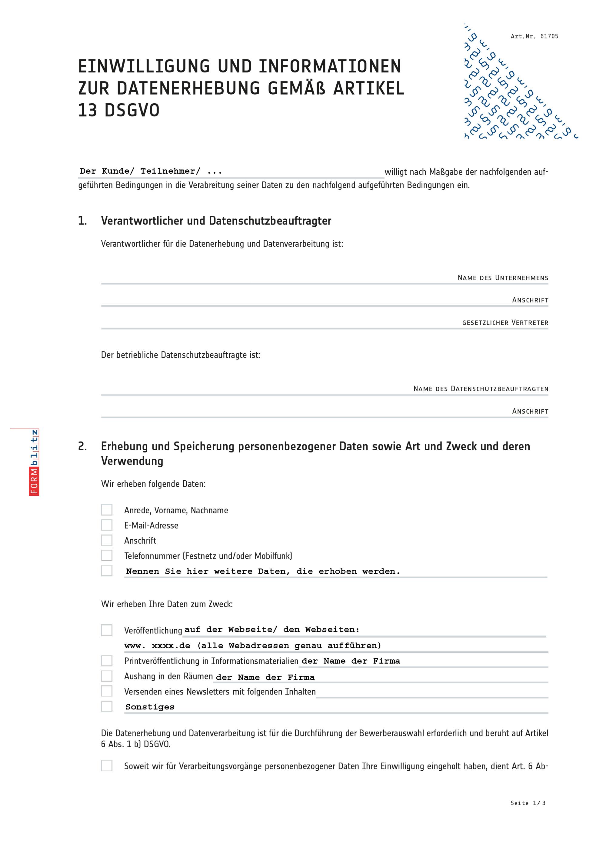 Einwilligungserklärung zur Datennutzung gemäß DSGVO (PDF) [Download]