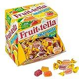 Fruittella Caramelle Gelee con Succo di Frutta Morbide, Gusti Assortiti Fragola, Arancia e Limone, 125 Caramelle Monopezzo