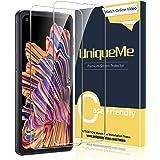 [2 Pack] UniqueMe Compatible con Samsung Galaxy Xcover Pro Protector de Pantalla, Vidrio Templado [9H Dureza] HD Film Cristal