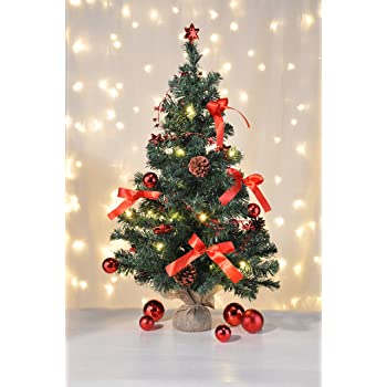 bambelaa k nstlicher weihnachtsbaum christbaum 75cm komplett geschm ckt dekoriert mit. Black Bedroom Furniture Sets. Home Design Ideas