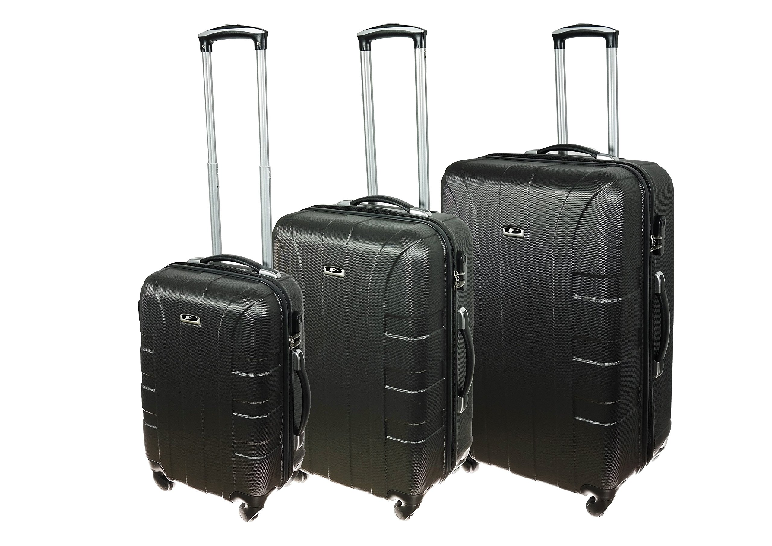 P-Collection-Hartschalen-Kofferset-Trolley-Koffer-Reisekoffer