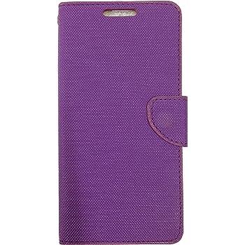 Celson Flip Cover For Asus Zenfone 3 (ZE552KL) Flip Cover Case - Purple