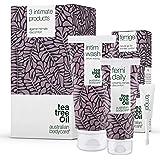 Australian Bodycare Intim Treatment Kit | 3 Tea Tree Oil produkter för intimvård mot torrhet, lukt, klåda eller annat underli
