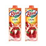 Real Fruit Power, Litchi, 1L (Pack of 2)