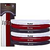 Kit di 6 Fasce Sportive Sottili per Capelli Athlé Sport - Fasce Elastiche per Uomini e Donne Antiscivolo in Silicone - Fasce