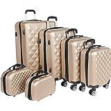 كابيتال حقائب سفر بعجلات - 6 قطع