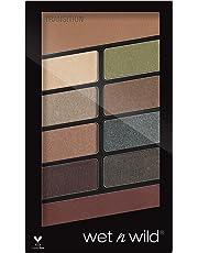 Wet 'n Wild Color ComFort Zone Icon 10 Pan Palette, Multi-Color, 8.5g