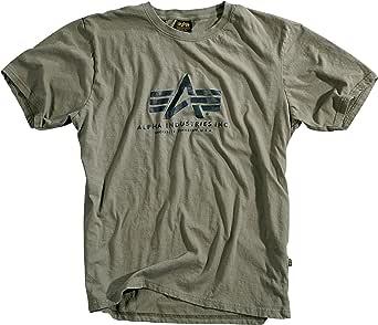 ALPHA INDUSTRIES Men's NASA Grand Tour Hoody T-Shirt