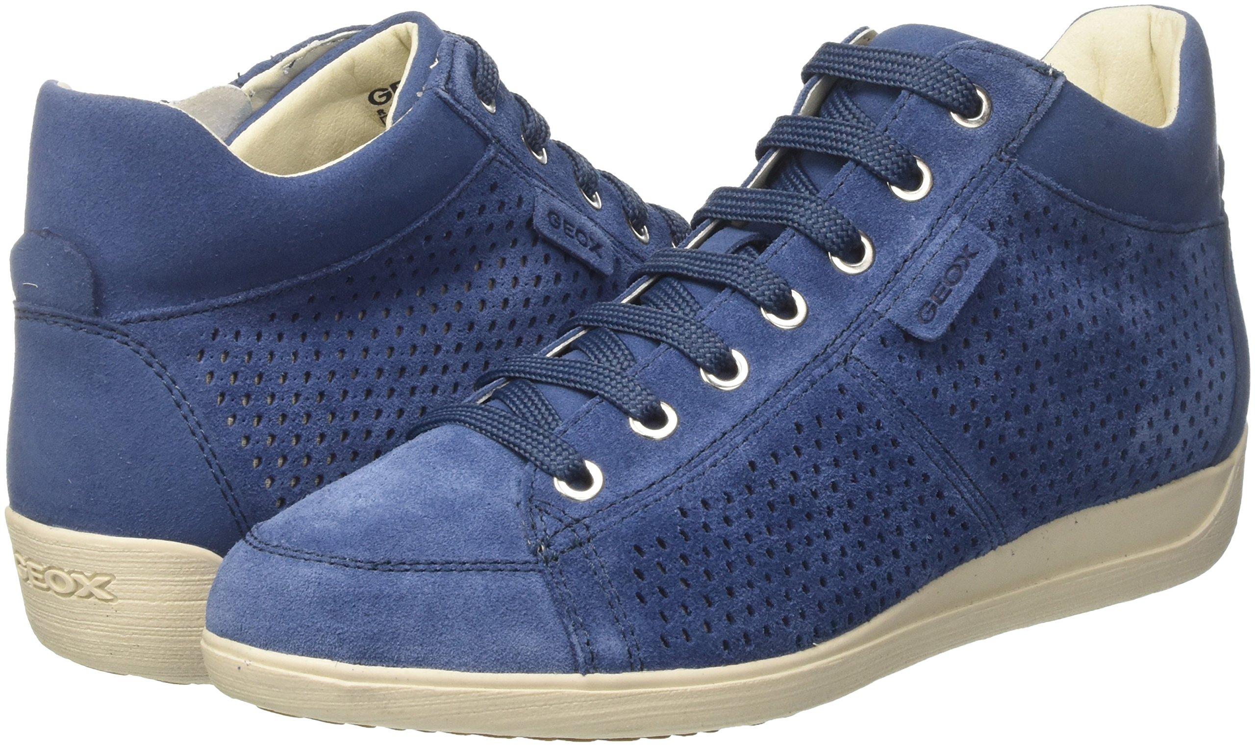 Geox Damen D Myria B Hohe Sneaker 5