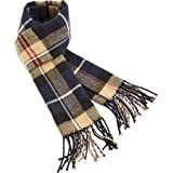 CityComfort Checked Scarf For Men | Reversible Mens Scarfs Winter With a Trendy Tartan Design | Super Soft Warm Winter Essent