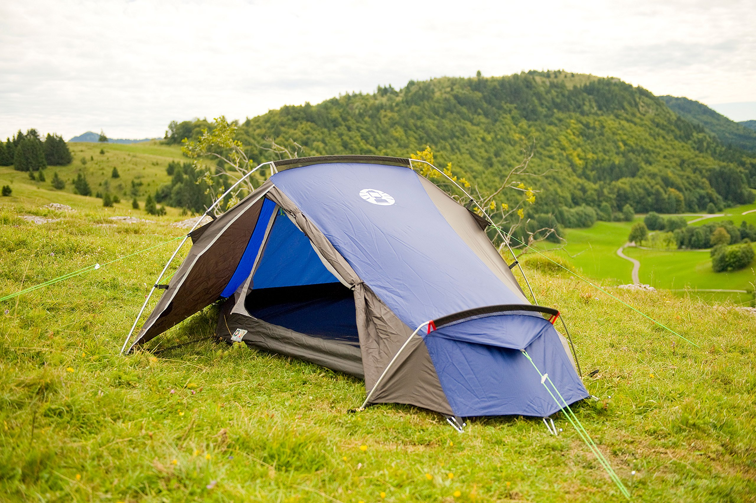 Coleman Cobra 2 Tent for Trekking Tours, Camping or Festivals, Small Pack Size, Fits in a Backpack, Waterproof HH 3.000… 8
