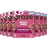 Graze Berry Burst Superfood Oat Bites Havermoutrepen - 7 x 4 Repen (120 g)