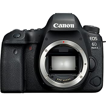 Canon Europa EOS 6D Mark II Body Fotocamera Digitale Reflex, Nero