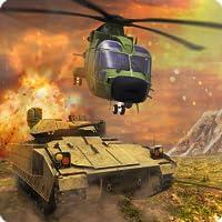 Simulateur moderne de guerre d'hélicoptère de réservoir