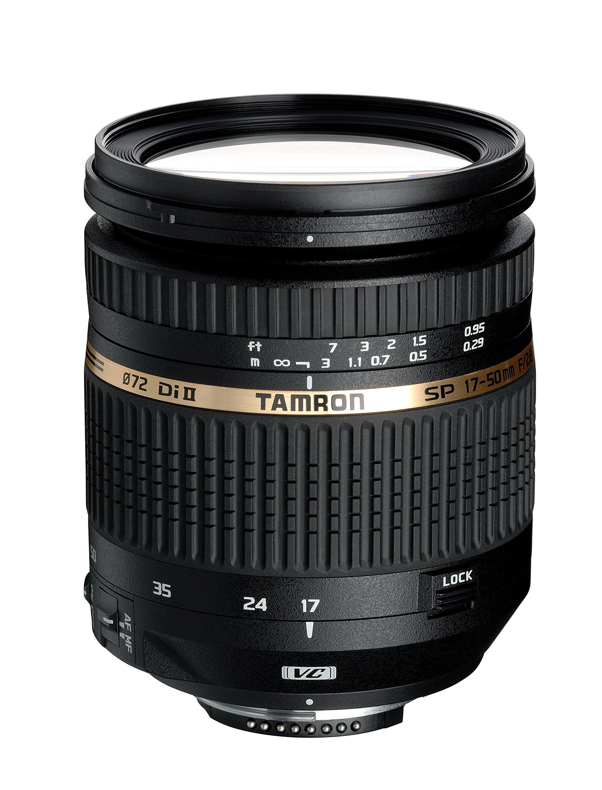 Obiettivo 17-50 mm f/2.8 XR Di II VC Nikon, Nero