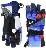 Quiksilver Herren Youth Mission-Snowboard/ski Gloves 8-16, Mandarin red, M