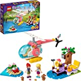 LEGO 41692 Friends Vet Clinic Rescue Helicopter Toy with Baby Animals, Stephanie and Mia Mini Dolls
