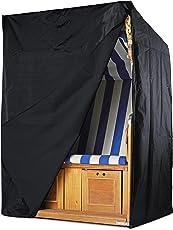 Springreen Strandkorb Schutzhülle - Universelle Abdeckung Zum Schutz von Strandkörben | Extra Wasserabweisend und UV schützend