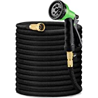 """HBselect Garden Hose, All New 2021 7.6M/25Ft Expandable Water Hose Pipe with 3/4"""" Solid Brass Fittings, Extra Strength…"""