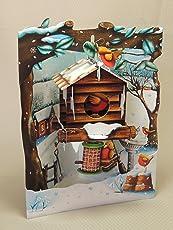 Carte Santoro 3D Weihnachtskarte SC77