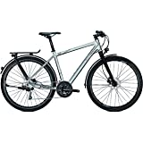 Univega Damen Geo 6.0 Fahrrad chromosilver matt 45