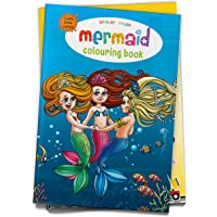 Mermaid Colouring Book (Giant Book Series): Jumbo Sized Colouring Books (Giant Colouring Book Series)