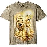 The Mountain Lion Pair Camiseta Unisex Adulto