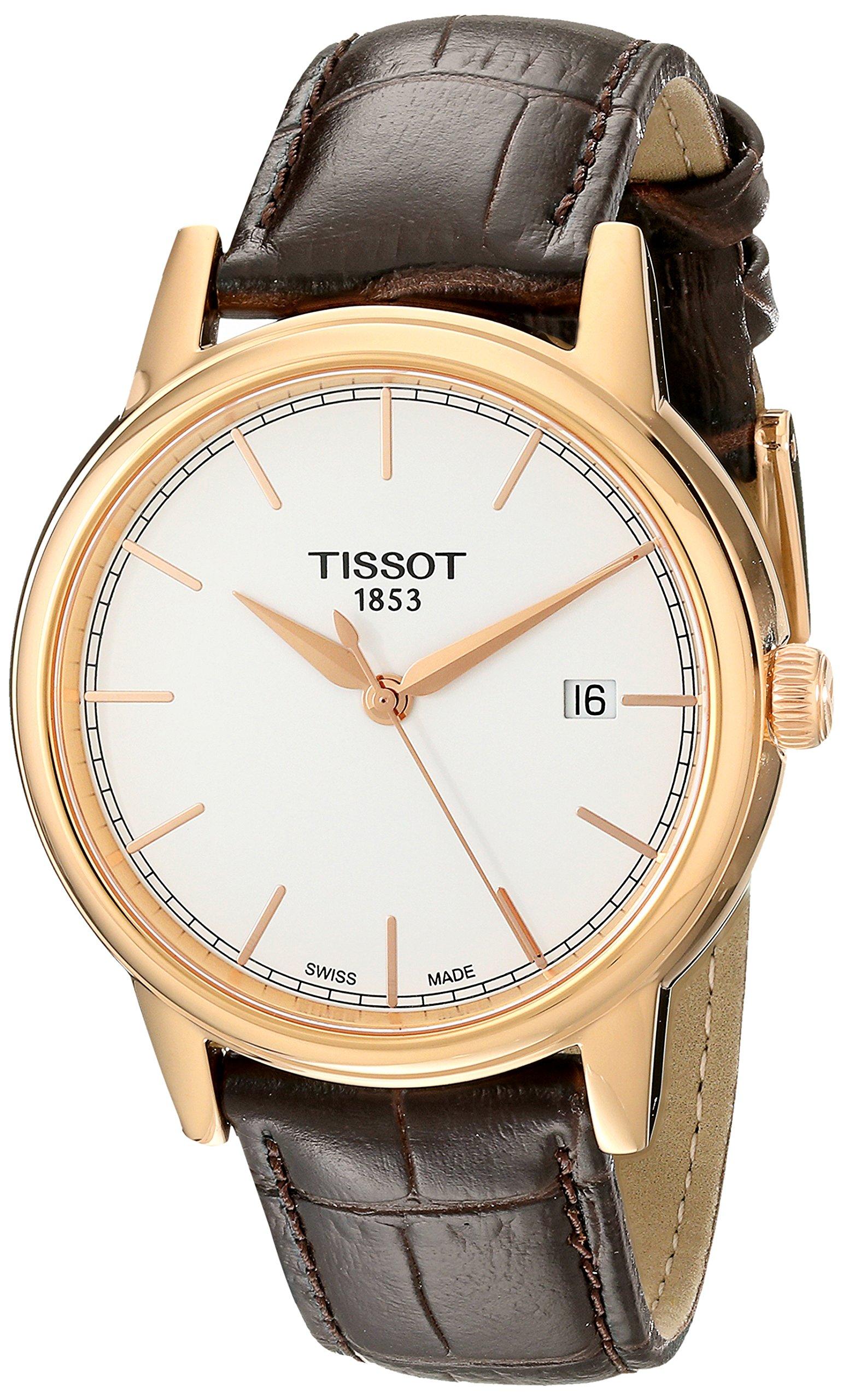 Tissot T0854103601100 – Reloj para Hombres, Correa de Cuero Color marrón