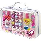 POP by Markwins 1539011E Pop-make-upkoffer voor meisjes, 24-delige kinderschminkset met kindermake-up en kindersieraden, roze