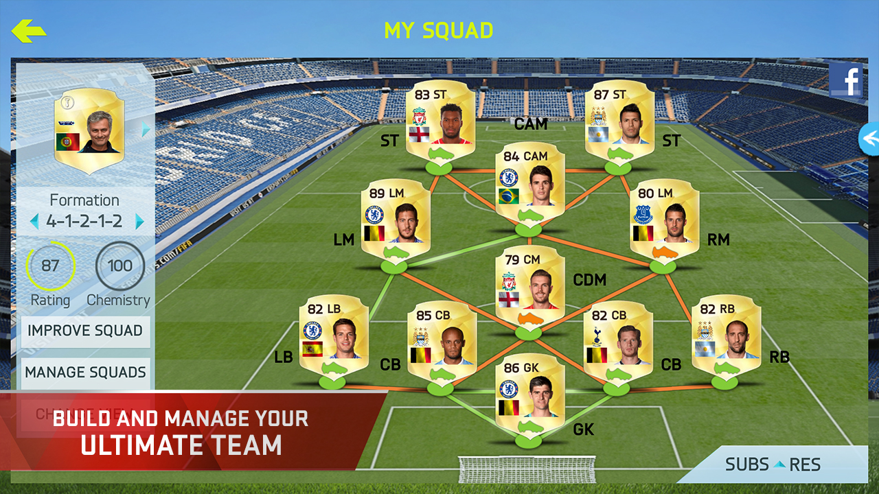 FIFA 15 ULTIMATE TEAM: Amazon co uk: Appstore for Android