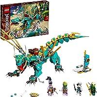 LEGO 71746 NINJAGO Dschungeldrache Bauset, mit Ninja Lloyd und Zane Minifiguren, Drache Spielzeug ab 8 Jahren für Jungen…
