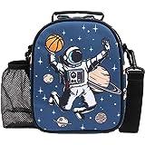 Fringoo - Lunch Box - Sac à lunch - Sac à lunch pour enfants - Sac à lunch à isolation thermique (Astronaute)