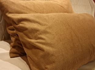 Trance Home Linen Brown Waterproof Pillow Protector