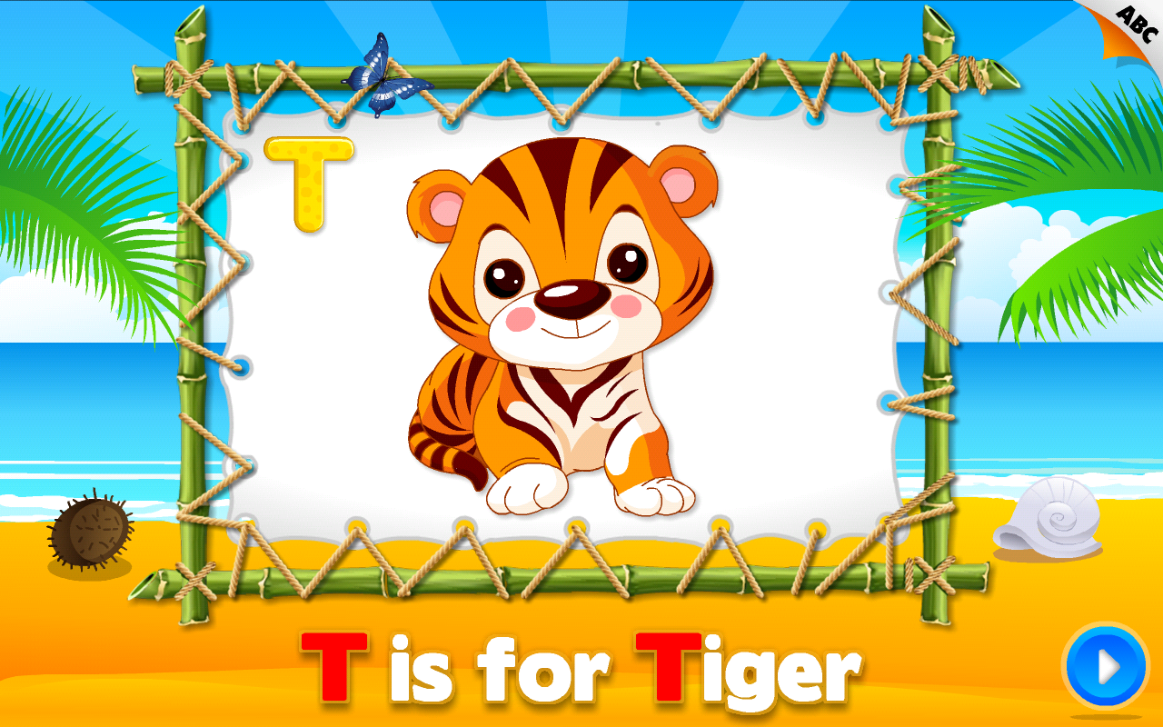 Preschool Educational Games - ABC Alphabet Aquarium School Vol 1 (Essential  Apps for Kids): Animated Puzzle Learning Games with Letters and Animals