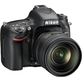 Nikon D610 Fotocamera Reflex con Kit 24-85 VR, Lega di Alluminio/Plastica, Nero