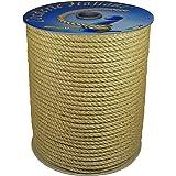 Corderie Italiane 006044093 jute touw, 10 mm, 50 m, natuur