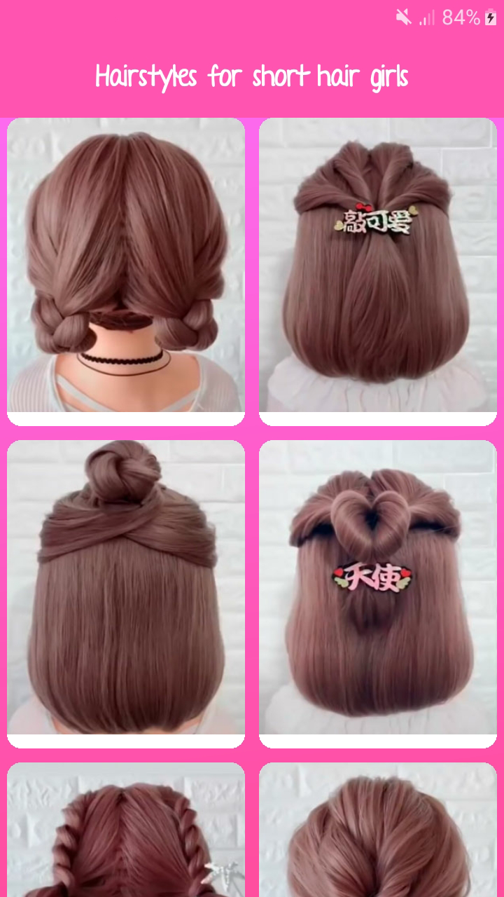 Hairstyles ideas step by step for girls  Amazon.de Apps & Spiele