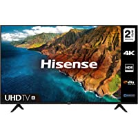 HISENSE 50AE7000FTUK 50-inch 4K UHD HDR Smart TV with Freeview play, and Alexa Built-in…