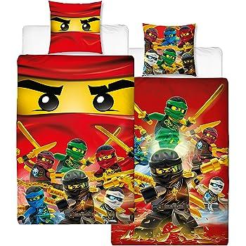 lego ninjago 613 kinderbettw sche bettw sche 140x200 cm 70x90 cm baby. Black Bedroom Furniture Sets. Home Design Ideas