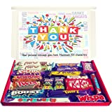Personalised Thank You Gift Hamper Chocolate Selection Box