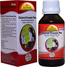 Growel Chelated Petomin Plus - Minerals Supplements for Dog, Puppy and Cat (100ml)