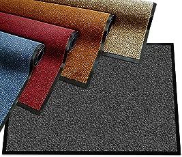 etm Schmutzfangmatte - Note 1,6: Sieger Preis-Leistung - Fußmatte in vielen Größen - Fußabstreifer für Haustür innen und außen
