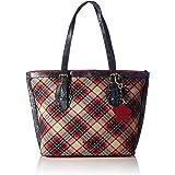 Laura Vita Womens 3776 Shopper, Rouge, Medium