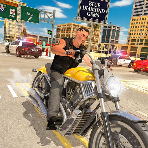 echte Gangster Vegas Verbrechen Simulator Spiele 2019: epischer Autodiebstahl