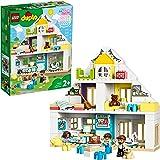 LEGO DuploTown CasadaGiocoModulare, Set3in1,Casa delle Bambole per Bambini e Bambine dai 2 Anni in Poi con Figure e Ani