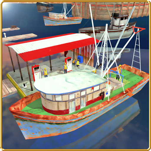 Fishing Boat Cruise Drive 3D - Real Fishing Game