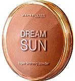 Maybelline New York Dream Sun Bronzer Blonde 01 / Bräunungspuder in drei aufeinander abgestimmten Bronzetönen, für eine natürlich wirkende Bräune im Gesicht, 1 x 16 g