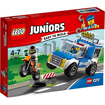 Lego Juniors 10720 Police Helicopter Chase Multi Coloured Lego